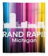 Grand Rapids Mi 2 Fleece Blanket