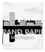 Grand Rapids Mi 4 Fleece Blanket