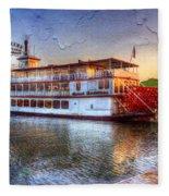 Grand Romance Riverboat Fleece Blanket
