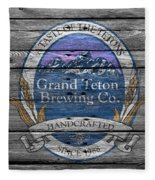 Grand Teton Brewing Fleece Blanket
