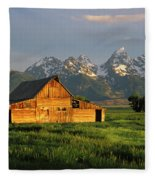 Grand Teton National Park , Wyhomestead Fleece Blanket