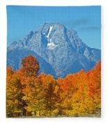 Grand Teton National Park 2 Fleece Blanket
