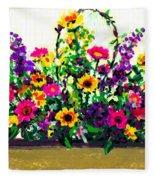 Grandchildren's Bouquet Fleece Blanket