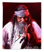 Grandfather Mazatzin Rw2k14 Fleece Blanket