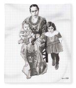 Grandma's Family Fleece Blanket