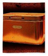 Grandma's Kitchen- Copper Breadbox Fleece Blanket