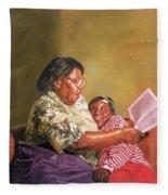 Grandmas Love Fleece Blanket