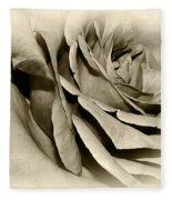 Grandma's Rose Fleece Blanket