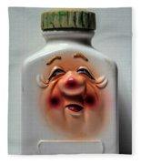 Grandpa's Pill Bottle II Fleece Blanket