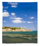 Granite Island South Australia Fleece Blanket