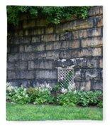 Granite Railroad Abutment Fleece Blanket