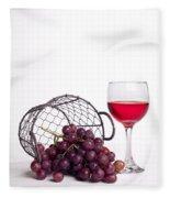 Grape Juice Fleece Blanket