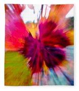 Grape Vine Burst Fleece Blanket