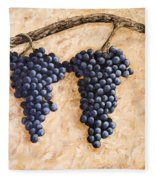 Grape Vine Fleece Blanket