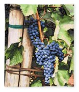Grapes 1 Fleece Blanket