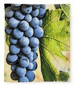 Grapes 2 Fleece Blanket
