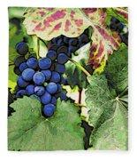 Grapes 3 Fleece Blanket