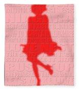Graphic Marilyn Monroe 2 Fleece Blanket