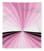 Graphic Pink And White Fleece Blanket