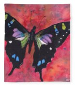 Graphium Weiskei Fleece Blanket