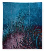 Grass Abstract Fleece Blanket