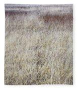 Grass Abstract Fleece Blanket
