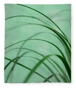 Grass Impression Fleece Blanket