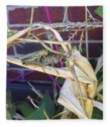 Grasshopper Piggyback Fleece Blanket
