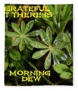 Grateful Dew Fleece Blanket