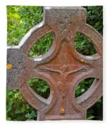 Grave Cross 5 Fleece Blanket