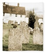 Grave Yard Fleece Blanket