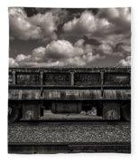 Gravel Train Fleece Blanket