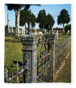 Graveyard Art Fleece Blanket