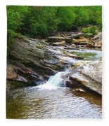 Graveyard Falls Fleece Blanket