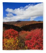 Graveyard Fields In The Mountains Fleece Blanket
