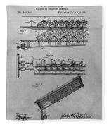 Graveyard Patent Fleece Blanket