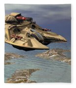 Gravity Tank Fleece Blanket