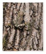Gray Tree Frog Fleece Blanket