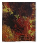 Great Ball Of Fire Fleece Blanket