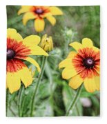 Great Blanket Flower Gaillardia Fleece Blanket