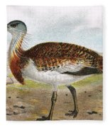 Great Bustard Fleece Blanket