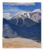 Great Colorado Sand Dunes 125 Fleece Blanket