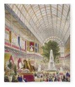 Great Exhibition, 1851 South Transept Fleece Blanket