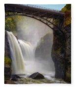 Great Falls Mist Fleece Blanket