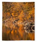 Great Falls National Park Fleece Blanket