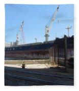 Great Lakes Ship Polsteam 4 Fleece Blanket