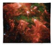 Great Nebula In Carina Fleece Blanket