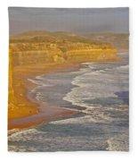 Great Ocean Road #4 Fleece Blanket