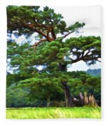 Great Pine Fleece Blanket