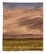 Great Sand Dunes In Colorado Fleece Blanket